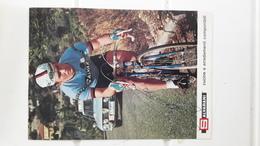 Salvarani Format 13 Cm X 18 Cm Wladimiro Panizza Autographe Manuscrit - Ciclismo
