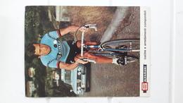Salvarani Format 13 Cm X 18 Cm Gianni MOTTA - Ciclismo