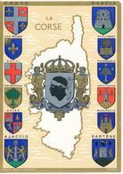 CORSE (20) Héraldique. Blasons. Historique Des Armes De La Corse. Dessins Et Texte Historique De Robert LOUIS - Corse