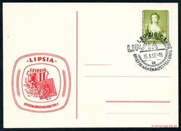 B5897 - Leipzig - Sonderstempel - Lipsia - DDR