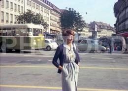 70s BUS BERN SUISSE CITROEN DS SWITZERLAND 35 Mm  ORIGINAL NEGATIVE  Not PHOTO No FOTO - Photography