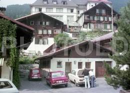 70s BERN SUISSE FIAT 128 SWITZERLAND 35 Mm  ORIGINAL NEGATIVE  Not PHOTO No FOTO - Photography