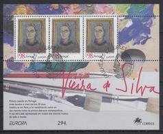 PORTUGAL 1996 HB-117 USADA (1º DIA) - Hojas Bloque