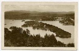LAKE DISTRICT : WINDERMERE AND BELLE ISLE (ABRAHAM'S SERIES) / ADDRESS - BIRTLEY, MOUNT PLEASANT - Cumberland/ Westmorland