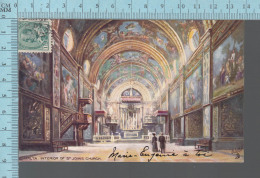 Raphael Tuck - Oilette, Malta Interior Of St-Johns Church, # 7090, CPA - Autres Illustrateurs