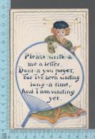 CPA, Signé C. Souami 1911, Femme Japonaise - Autres Illustrateurs
