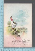 CPA, Illustrateur, The Reason Why I Climb So Hight....., ED: B&J N.Y. - 1900-1949
