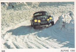 IMAGE 5 X 7,5  Sport Automobile Rallye Des Neiges Et Des Glaces ALPINE 1300 - Vieux Papiers