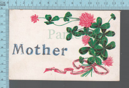 CPA, Mother , Payette Et Fleurs ED : Print In Germany, # 5003 - Fêtes - Voeux