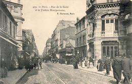 D75  PARIS Rue De La Gaité Et Théatre Montparnasse - Arrondissement: 14