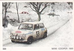 IMAGE 5 X 7,5  Sport Automobile Rallye Des Neiges Et Des Glaces MINI COOPER 1000 - Other