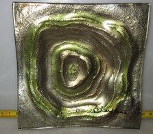 BOMBONIERA PIATTINO CLARALUNA LAVORATO IN VETRO - Glass & Crystal