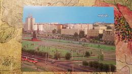 Russia. Perm.  Panorama ( W Tram) 1988 Tramway - Tramways