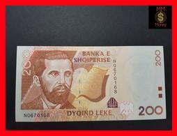 Albania 200 Leke 2001 P. 67 UNC - Albanie