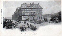 13 - MARSEILLE - Les Docks - DOS ENTIER - Attelages - ANIMATION - Altri