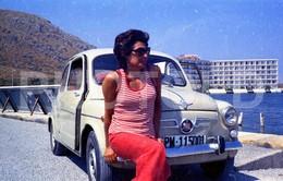 70s ISLAS BALEARES ESPANA SPAIN SEAT 600 FIAT  35 Mm  ORIGINAL NEGATIVE  Not PHOTO No FOTO - Photography