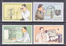 THAILAND  1734-7  **  KING  & TELECOMMUNICATIONS - Thailand