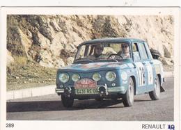 IMAGE 5 X 7,5  Sport Automobile Voiture De Rallye Sport Mécanique RENAULT 8 - Old Paper