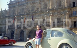 60s VW BEETLE MERCEDES BENZ 190SL ESPANA SPAIN 35 Mm  ORIGINAL NEGATIVE  Not PHOTO No FOTO - Photography
