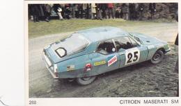 IMAGE 5 X 7,5  Sport Automobile Voiture De Rallye Sport Mécanique CITROËN MASERATI SM - Old Paper