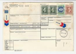 Bulletin D'Expedition * Norway * 1990 * Espeland To Porto (Portugal) - Postpaketten