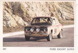 IMAGE 5 X 7,5  Sport Automobile Voiture De Rallye Sport Mécanique OPEL ESCORT SUPER - Old Paper