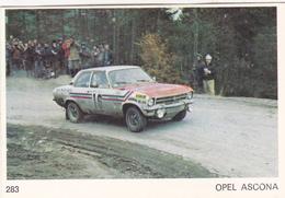 IMAGE 5 X 7,5  Sport Automobile Voiture De Rallye Sport Mécanique OPEL ASCONA - Old Paper