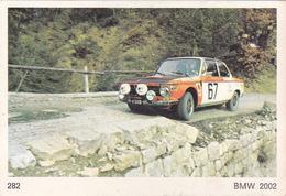 IMAGE 5 X 7,5  Sport Automobile Voiture De Rallye Sport Mécanique BMW 2002 - Old Paper