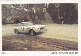 IMAGE 5 X 7,5  Sport Automobile Voiture De Rallye Sport Mécanique ALFA ROMEO 2000 GT - Old Paper