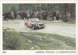 IMAGE 5 X 7,5  Sport Automobile Voiture De Rallye Sport Mécanique LANCIA FULVIA 1,3 MONTECARLO - Vieux Papiers