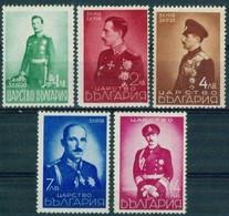 - Bulgaria / Bulgarie 1938 - Set(Mi No 345-9)MNH** - Neufs