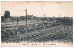 BARONCOURT  55  La Gare . Vue Générale Aerienne En 1939 - France