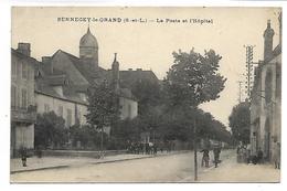 SENNECEY LE GRAND - La Poste Et L'Hôpital - France