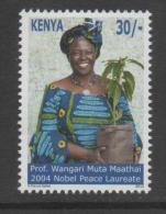 KENYA, 2012,MNH, NOBEL, NOBEL PEACE LAUREATE, PROF. WANGARI MUTA MAATHAI - Prix Nobel