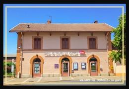 01  VILLARS  Les  DOMBES  ...  La Gare - Villars-les-Dombes