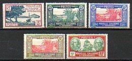 OCEANIE - Colonie Française (Nlle CALEDONIE) - 1939-40 - N° 180 à 184 - (Lot De 5 Valeurs Différentes) - Nouvelle-Calédonie