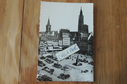 STRASBOURG PLACE KLEBERT / BELLE SERIE DE VIEILLES VOITURES - Strasbourg