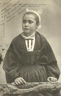 ROSCOFF  -- Jeune Fille, Costume De Fête                                               -- Villard 12 6 - Roscoff