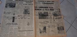 L HUMANITE MARS  1962  DECES DU PROFESSEUR PICCARD PERE DU BATHYSCAPHE ET PREMIER EXPLORATEUR  DE LA STATOSPHERE - Journaux - Quotidiens