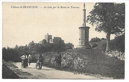 Château De BRANCION - Arrivée Par La Route De Tournus - France