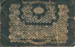 Italie  COMUNE Di FERRA ALPACO  1915 / 1918 .( état Tres Moyen ) - Belluno