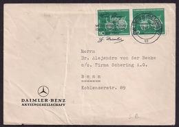 Deustchland - 1961 -  Brief - Daimler Benz Aktiengesellschaft - Stuttgart Nach Bonn - Covers & Documents