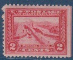 ETATS-UNIS - 2 C. Canal De Panama Neuf TB - Unused Stamps