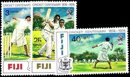 Fiji 1974 Cricket Unmounted Mint. - Fiji (1970-...)