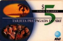 TARJETA TELEFONICA DE ESTADOS UNIDOS (PREPAGO). TARJETA PRE-PAGADA DE AT&T, $5. (114) - Vereinigte Staaten