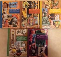 LOT De 5 ENCYCLOPEDIES Du Livre D'Or Pour Garçons - Books, Magazines, Comics