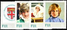 Fiji 1982 Princess Diana Unmounted Mint. - Fiji (1970-...)