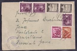 Österreich - 1946 - Brief Mit Alliierter Zensur - Sowjetische Zone - 1945-.... 2ème République