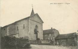 """CPA FRANCE 74 """"Beaumont, L'église"""" - Other Municipalities"""