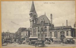 8Ze-993: LIEGE - La Poste > Bruges 1921....de Postzegels Zijn Reeds Weg... - Luik